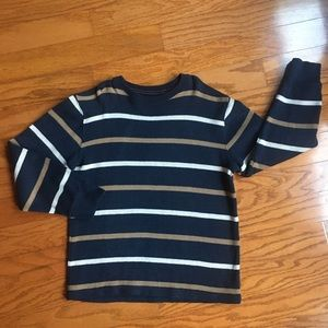 Gap Boys size 10 long sleeve heavy knit  tee.